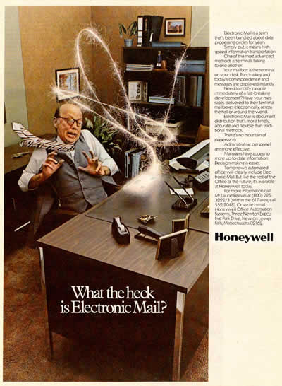 "HoneyWell: ""What the Heck is Electronic Mail?"" (1981)"