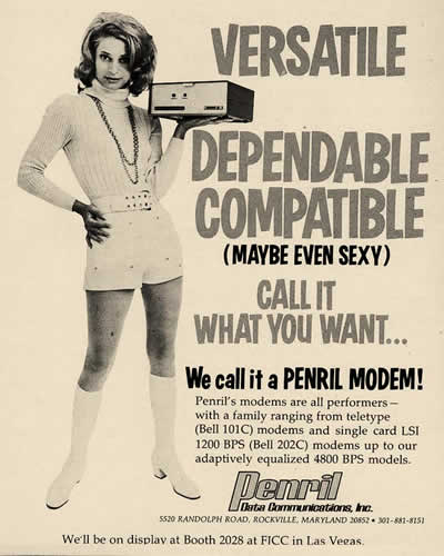 "Penril: ""We call it a Penril Modem"" (1971)"