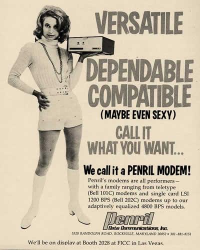 "Penril: ""We call it a Penril Modem"" (1971)"