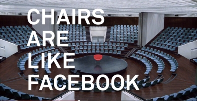Facebook Chair ad